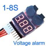 BB Alarm voltage alram for 1-8S lipo
