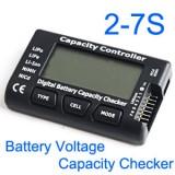 CellMeter 7 digital battery capacity checker tester 2-7S for LiPo LiFe Li-ion Nicd NiMH