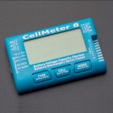 CellMeter 8 Battery Capacity Checker Servo Tester PWM PPM adjust