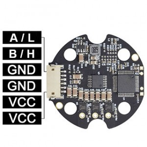 Driver with Open RS485 protocol for high speed DM40 & DM50 Gimbal Motor