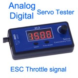 HJ Servo Tester for analog and digital servo and ESC throttle