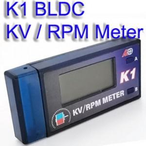 K1 BLDC KV / RPM Meter Servo Tester PWM Signal output