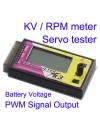 K3 BLDC KV / RPM Meter Servo Tester Battery Voltage checker PWM Signal output