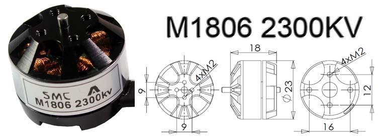 M1806 2300KV