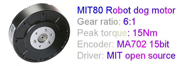 MIT80 ROBOT DOG Motor